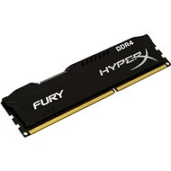 16 gigabytes DDR4 2133MHz Kingston HyperX Fury CL14 Black Series