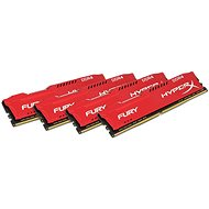 Kingston 64 Gigabyte KIT DDR4 2133MHz HyperX Fury Red CL14 Series - Arbeitsspeicher