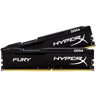 Kingston 16 Gigabyte KIT DDR4 2400MHz HyperX CL15 Fury Black Series