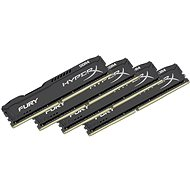 Kingston 64 Gigabyte KIT DDR4 2400MHz HyperX CL15 Fury Black Series - Arbeitsspeicher