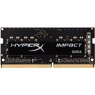 Kingston SO-DIMM 8 Gigabyte DDR4 2133MHz HyperX Auswirkungen CL13 Black Series - Arbeitsspeicher