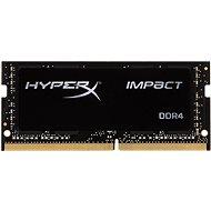 Kingston SO-DIMM 8 Gigabyte DDR4 2400MHz HyperX Auswirkungen CL14 Black Series - Arbeitsspeicher