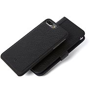 Decoded Leather 2in1 Wallet Case Black iPhone 7+/6s+ - Ochranné pouzdro