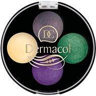 DERMACOL Quattro Baked Eye Shadows No.8 4 × 0.5 g - Eyeshadow