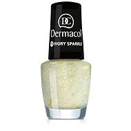 Dermacol Nail Polish With Effect - Ivory Sparkle 5 ml
