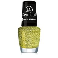 DERMACOL Nail Polish With Effect - Gold Stardust 5 ml - Lak na nehty