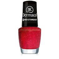 Dermacol Nail Polish With Effect - Red Stardust 5 ml