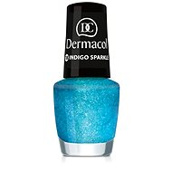 DERMACOL Nail Polish With Effect - Indigo Sparkle 5 ml - Lak na nehty