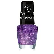 Dermacol Nail Polish With Effect - Violet Stardust 5 ml