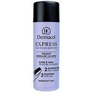 DERMACOL Express Nail Polish Remover120 ml - Odlakovač na nehty