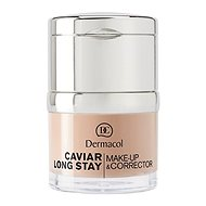 DERMACOL Caviar long stay make up and corrector - pale 30 ml - bilden