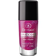 DERMACOL One Coat - Extreme Coverage Nail Polish 101 10 ml - Lak na nehty