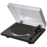 Denon DP-300F schwarz - Grammofon