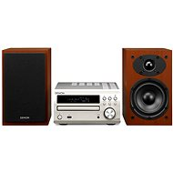 DENON RCD-M40 + SC-M39 speakers, silver