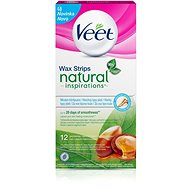 Veet Cold wax. Tapes with argan oil 12 pc