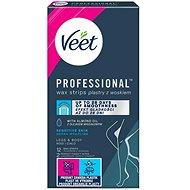 VEET Studené voskové pásky pro citlivou pokožku 12 ks - Pásky