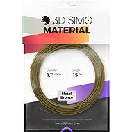 3DSimo Filament METAL - zlatá 15m - Tisková struna
