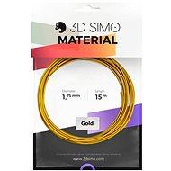 3DSimo Filament REAL GOLD - zlatá 15m - Tisková struna
