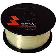 3D World ABS 1.75mm 1kg transparentní