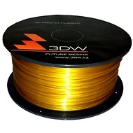 3D World ABS 1.75mm 1kg zlatá