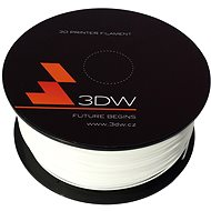 3D World PLA 1,75 mm 1 kg Weiß - Drucker-Filament