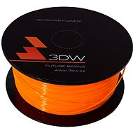 3D World PLA 1.75 mm 1 kg Orange