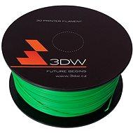 3D World PLA 1.75 mm, 1 kg, zelená - Tlačová struna