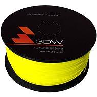 3D World PLA 1.75mm 1kg žltá - Tlačová struna