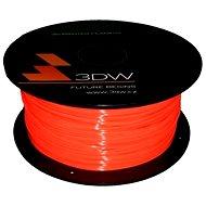 3D World PLA 1,75 mm 1 kg fluooranžová - Tlačová struna