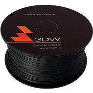 3D World PLA 1.75mm 0.5kg černá - Tisková struna