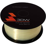 3D World PLA 1.75 mm 0.5 kg transparent