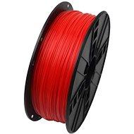 Gembird Filament PLA fluorescentní červená