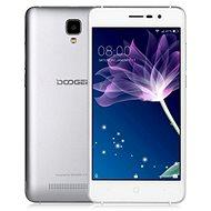 DOOGEE X10 Silver - Mobilní telefon
