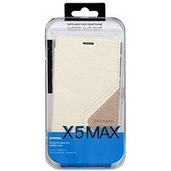 DOOGEE X5 MAX/X5 MAX PRO Flip Case + Screen Protector Glass White - Pouzdro na mobilní telefon