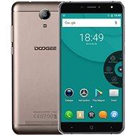 Doogee X7 zlatý - Mobilní telefon