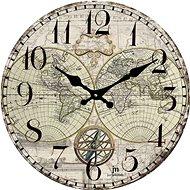 LOWELL 14863 - Nástěnné hodiny