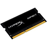 Kingston SO-DIMM 4GB DDR3L 1600MHz HyperX Impact CL9 Dual Voltage Black Series