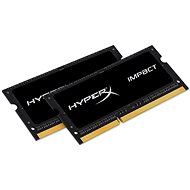 Kingston SO-DIMM 8GB KIT DDR3L 1600MHz HyperX Impact CL9 Dual Voltage