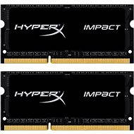 Kingston SO-DIMM 8GB KIT DDR3L 1866MHz HyperX Impact CL11 Black Series - Operační paměť