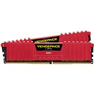 Corsair 16GB KIT DDR4 SDRAM 2133MHz CL13 Vengeance LPX červená