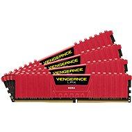 Corsair 16 GB KIT DDR4 2666MHz CL15 Vengeance LPX rot