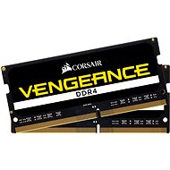 Corsair SO-DIMM 16 Gigabyte KIT DDR4 2666MHz CL18 Schwarz Vengeance