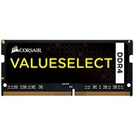 Corsair SO-DIMM 4GB KIT DDR4 SDRAM 2133MHz CL15 ValueSelect čierna