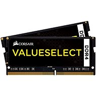 Corsair SO-DIMM 16 Gigabyte KIT DDR4 2133MHz CL15 schwarz Value