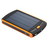 DOCA Powerbank Solar 23000mAh černá/oranžová - Power Bank
