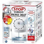 CERESIT Stop Vlhkosti Aero 360° bílý 450 g + vůně do auta - Pohlcovač vlhkosti