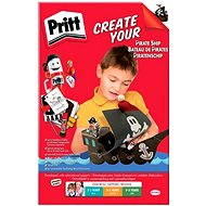 PRITT Crafting Kits Piraten - 4 Varianten - Klebekit