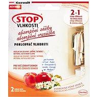 CERESIT Stop Vlhkosti 2v1 - absorpční sáčky energické ovoce 2 x 50 g - Pohlcovač vlhkosti
