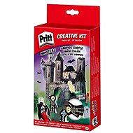 PRITT Crafting kits Loď duchů,Zámek upírů,Dračí kopec,Fantómův vůz/ - Kreativní sada