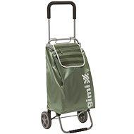GIMI Flexi zelený nákupní vozík 45 l - Wagen